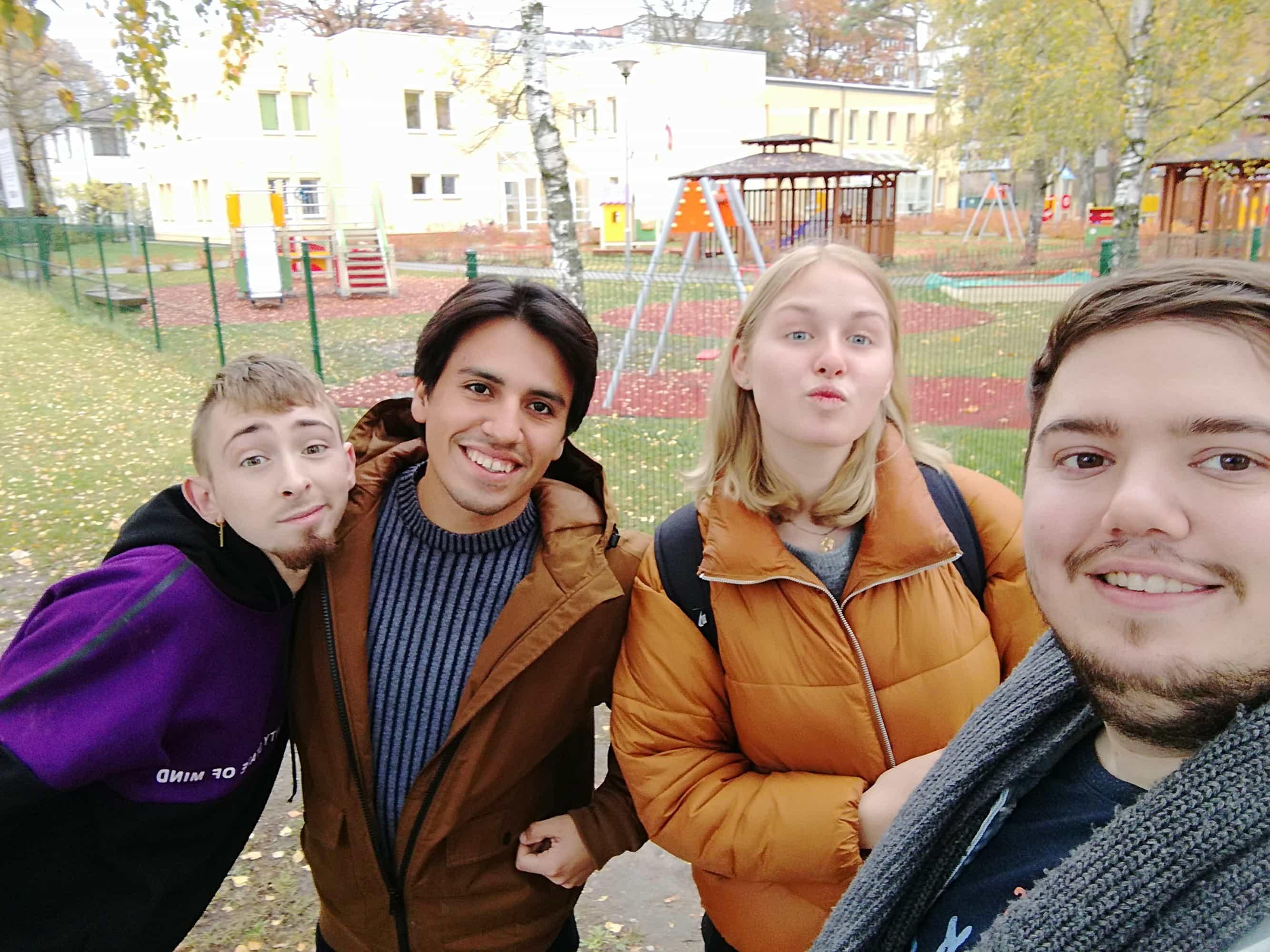 Un volontariat en Lettonie